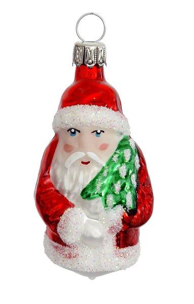 6 Cm Altdeutscher Weihnachtsmann Glasblaserei Thuringer Weihnacht