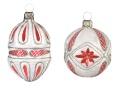 Ornamenten-Set, Sortiment Waffelmuster, 2-fach
